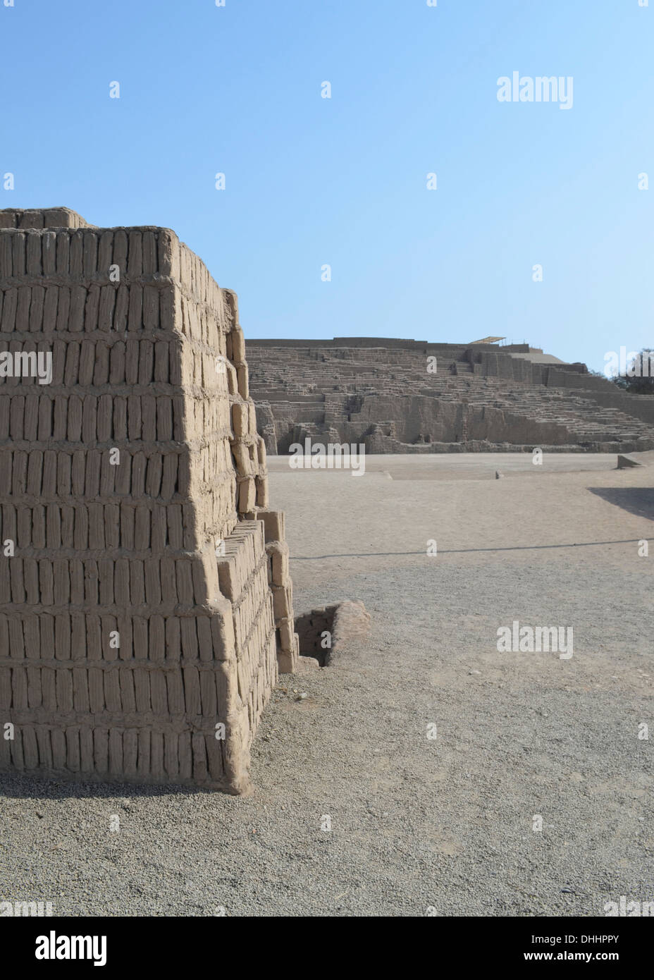 huaca pucllana or huaca juliana a pre inca adobe and clay pyramid