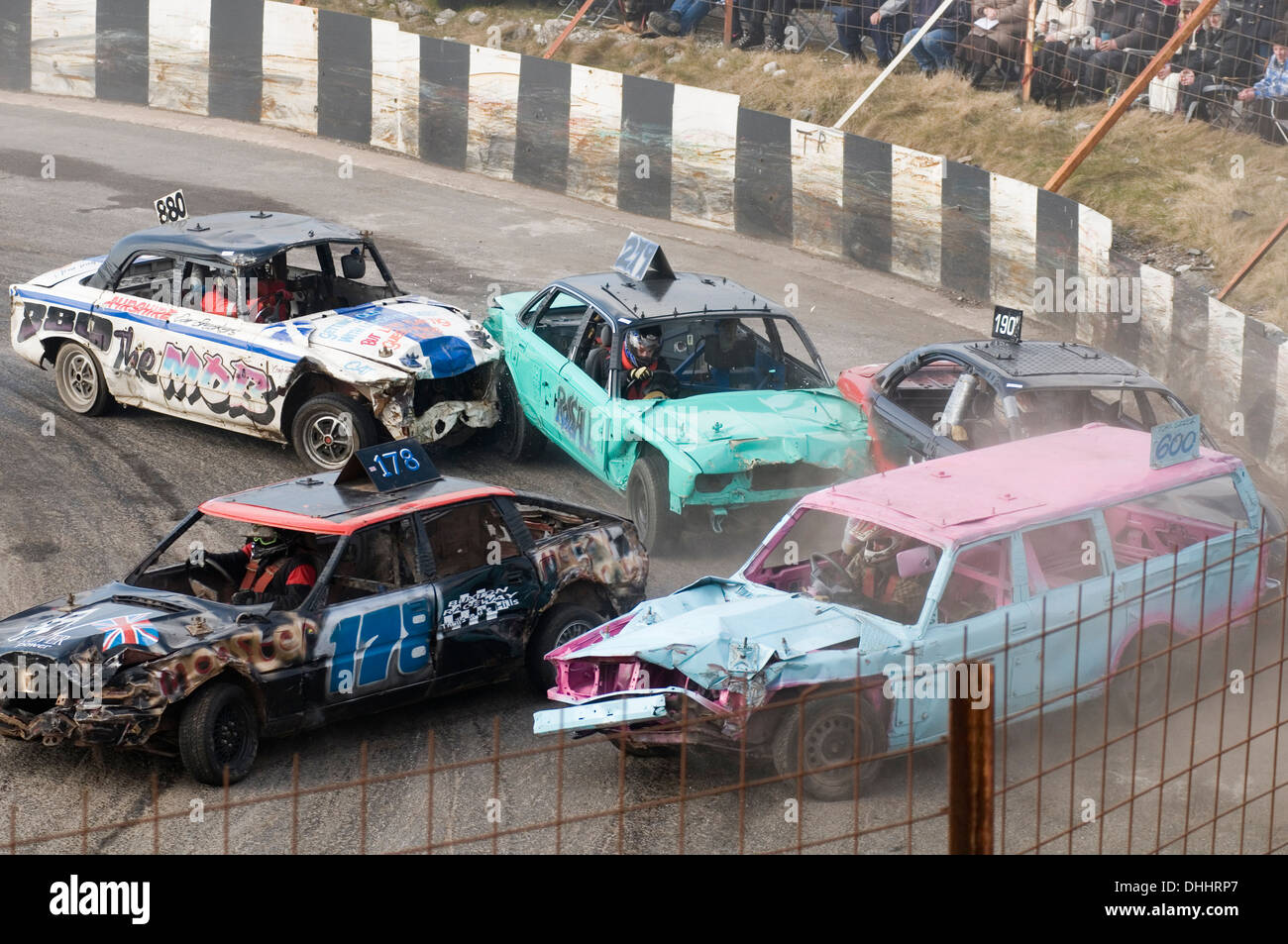 banger racing ace races demolition derby derbies destruction demo ...