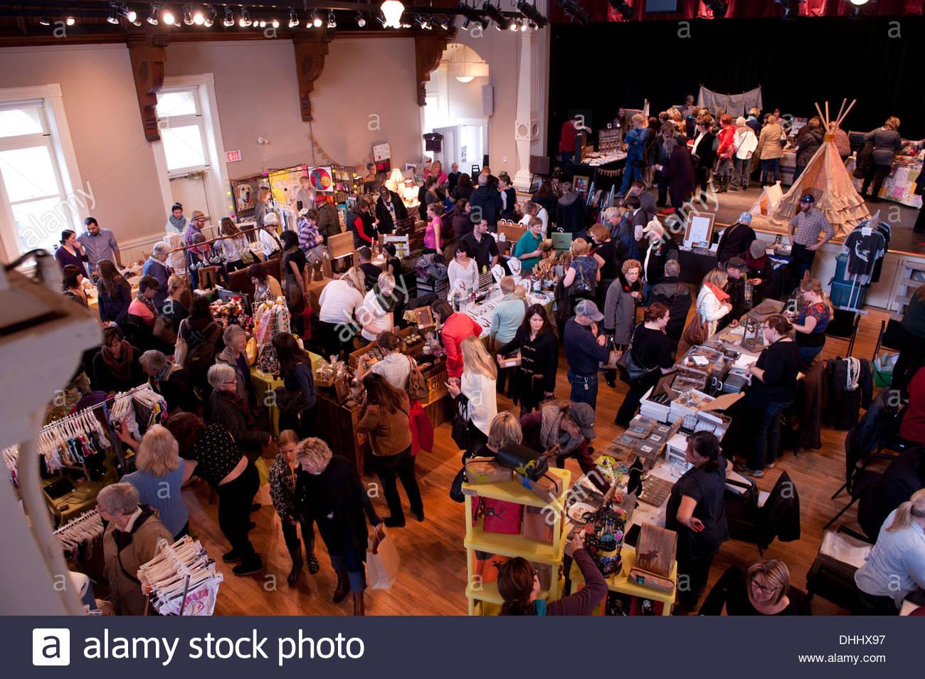 Craft Show sale - Stock Image