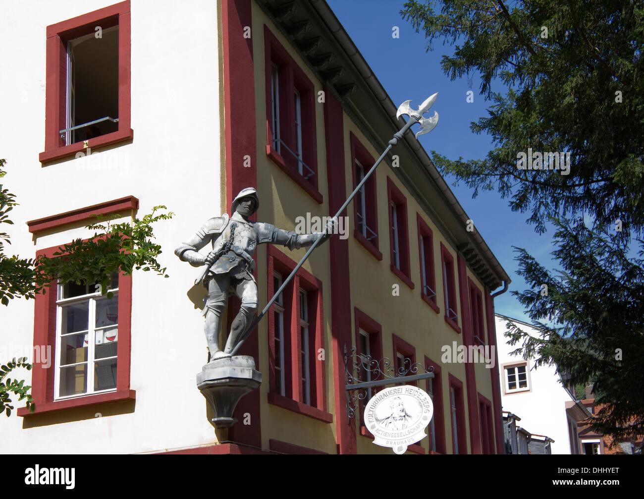 Street in Heidelberg Germany Europe - Stock Image