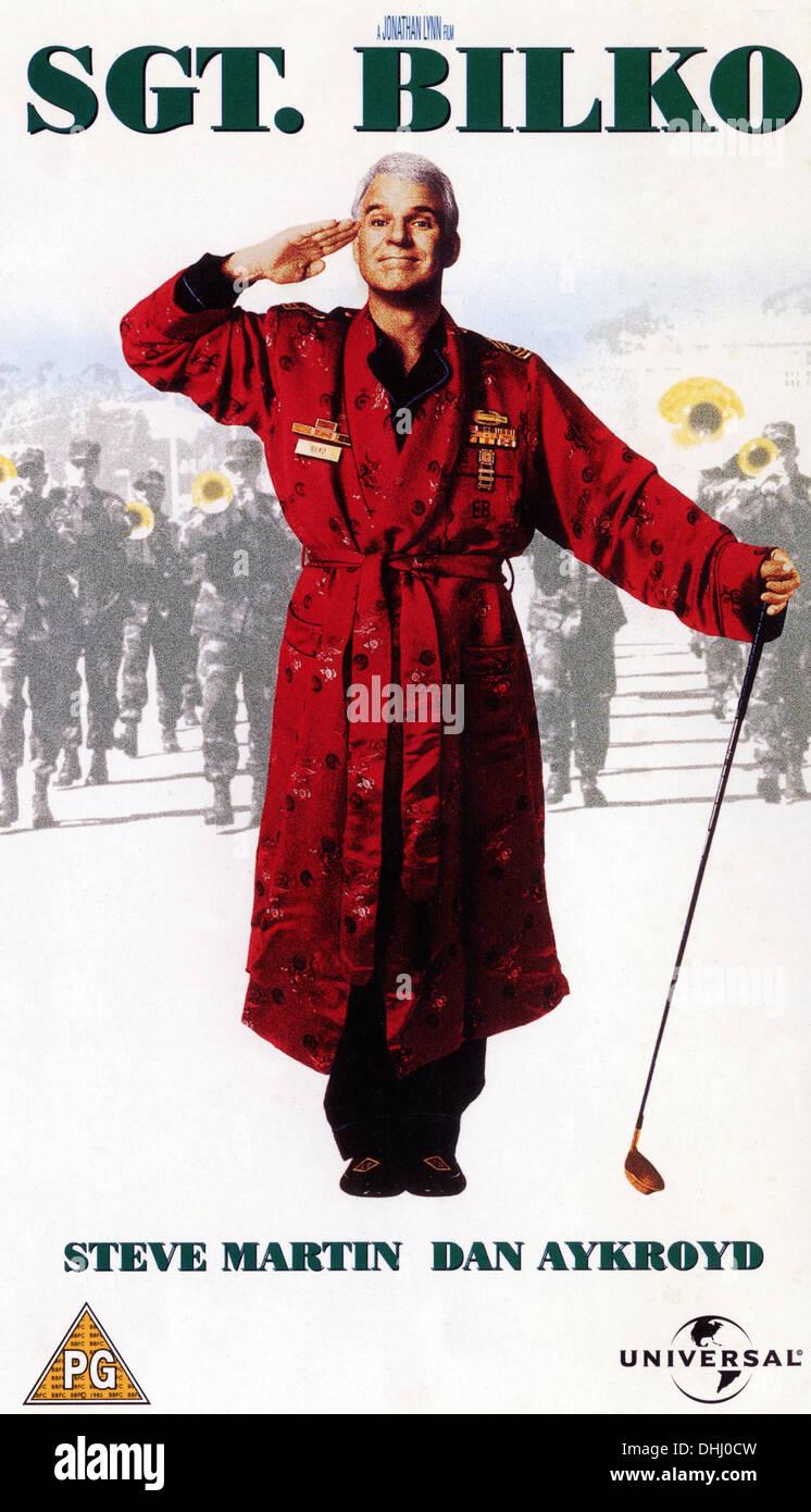 SGT BILKO (1996) POSTER STEVE MARTIN JONATHAN LYNN (DIR) 002 MOVIESTORE COLLECTION LTD - Stock Image