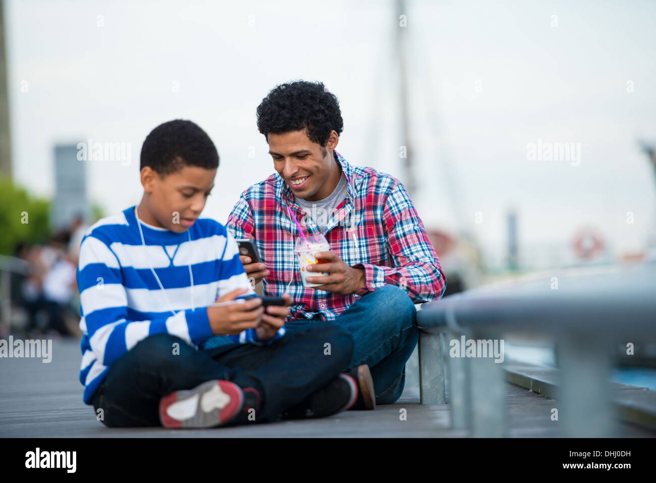 Boys day out - Stock Image