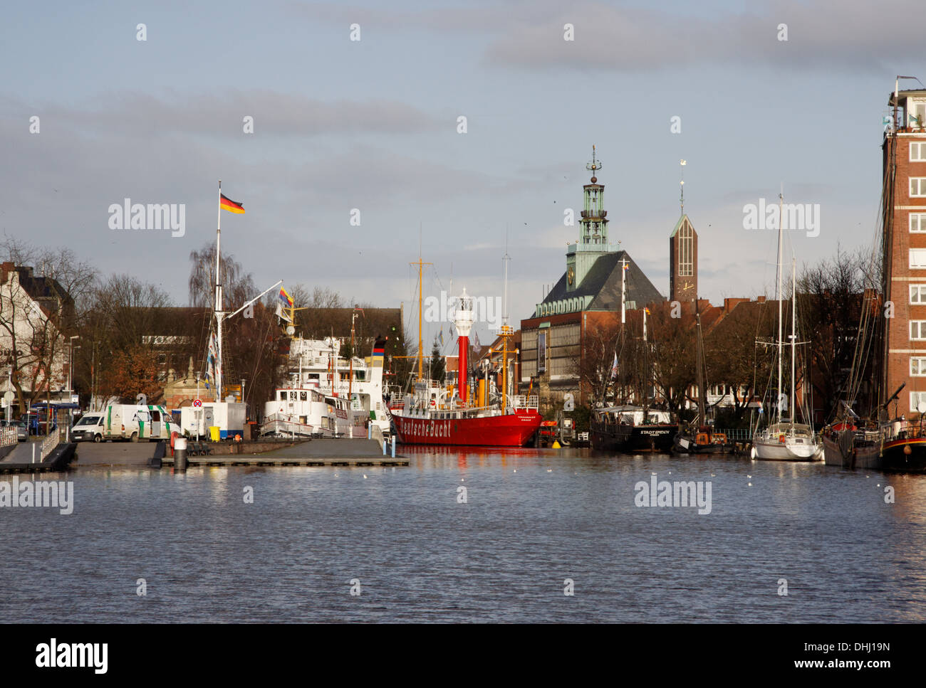 Age inland port Stock Photo
