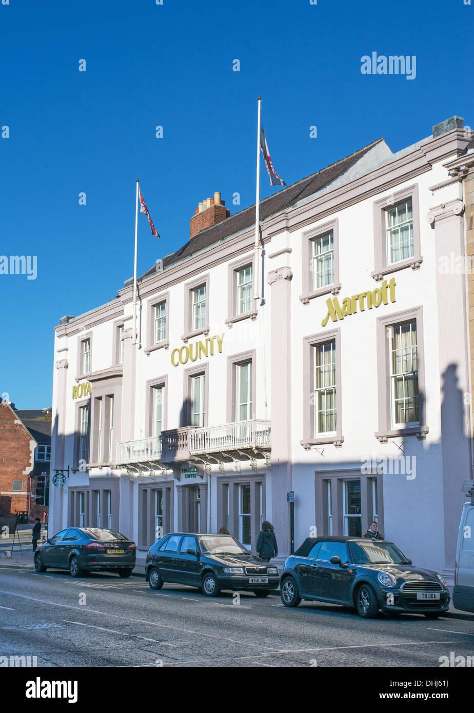 Marriott Royal County Hotel Durham City Co Durham England Uk