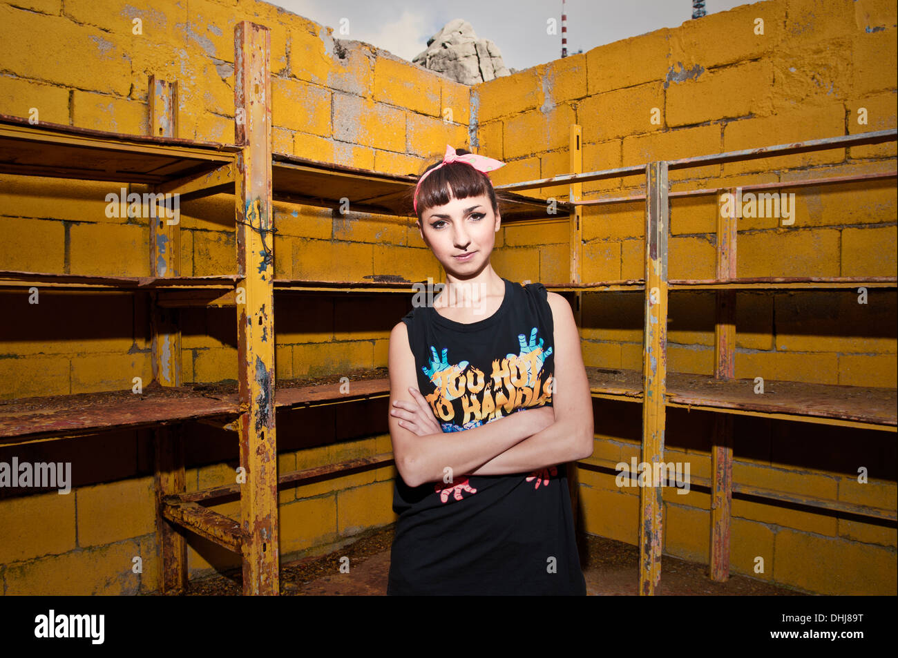 Hip hop style - Stock Image