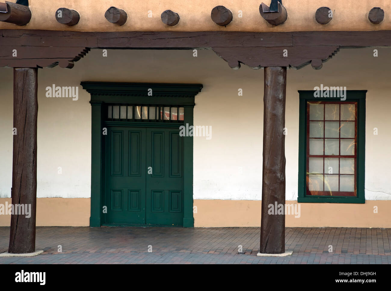 Door And Window Portal Palace Of The Governors Santa Fe