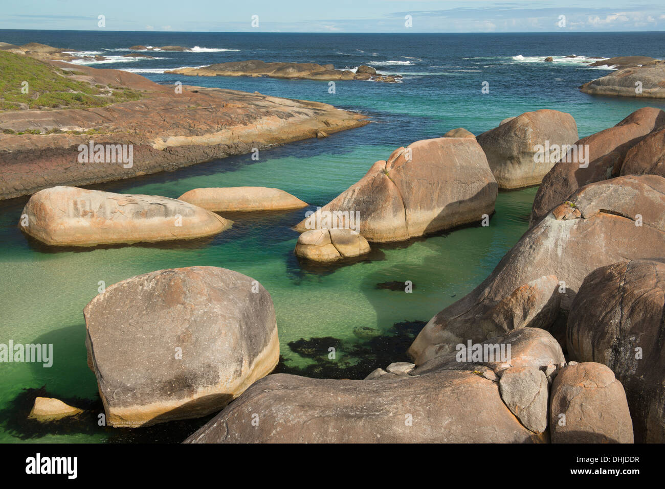 Elephant Rocks, William Bay National Park, Denmark, Western Australia - Stock Image