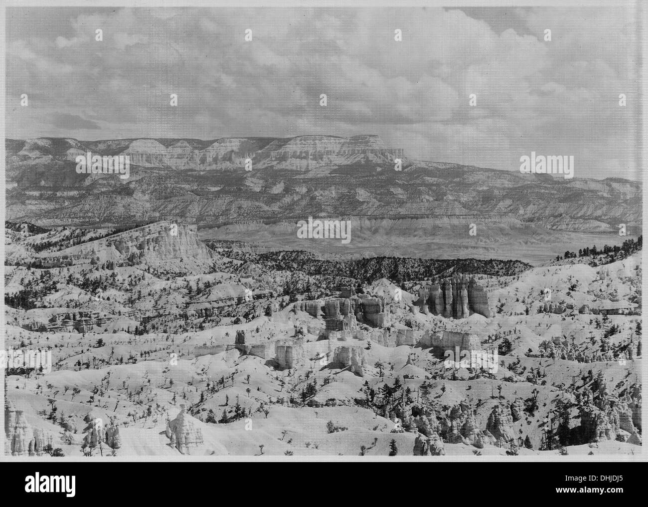 Escalante Mountain from Sunrise Point. 520230 Stock Photo