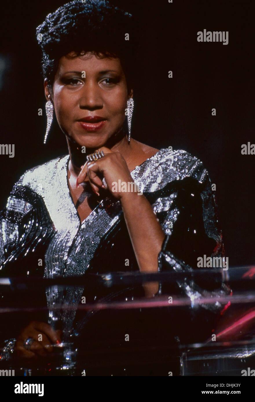 Aretha Franklin Stock Photo