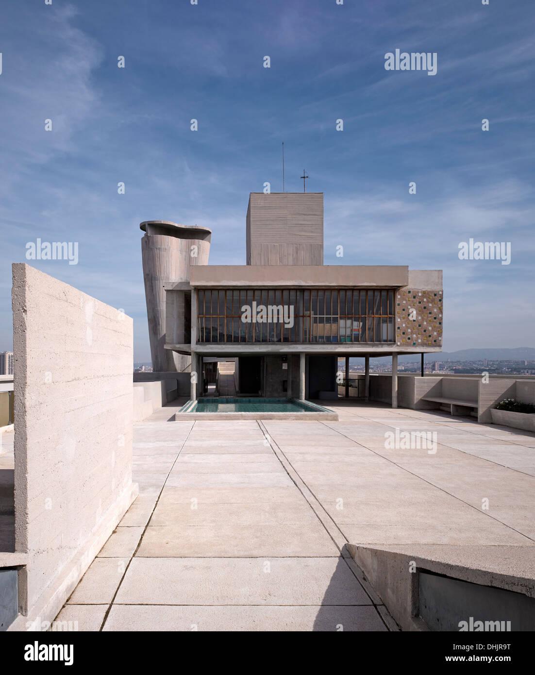 Le Corbusier Unite D Habitation unite d'habitation, marseille, france, architect: le