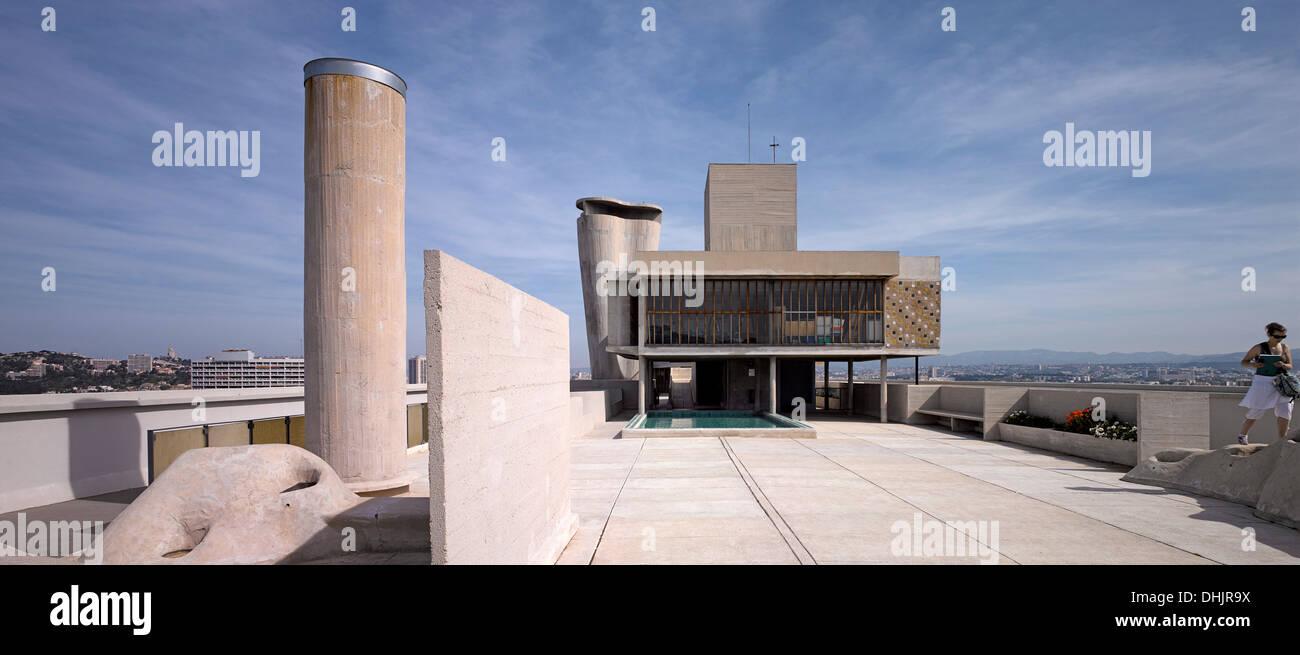Le Corbusier Unite D Habitation unite d'habitation, marseille, france. architect: le