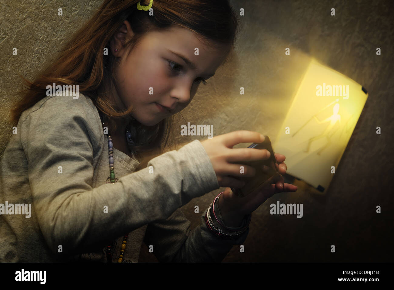 fascination of Technology - Stock Image
