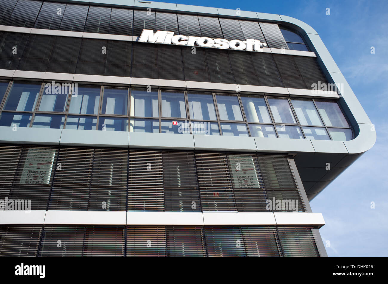 Microsoft offices Cologne Germany - Stock Image