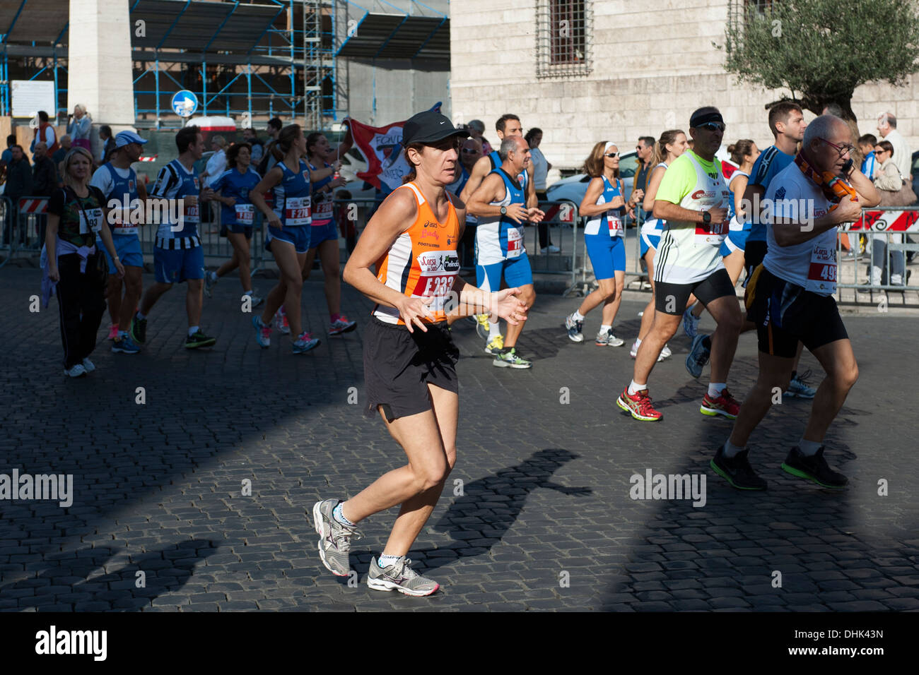 Race in Vatican city - Stock Image