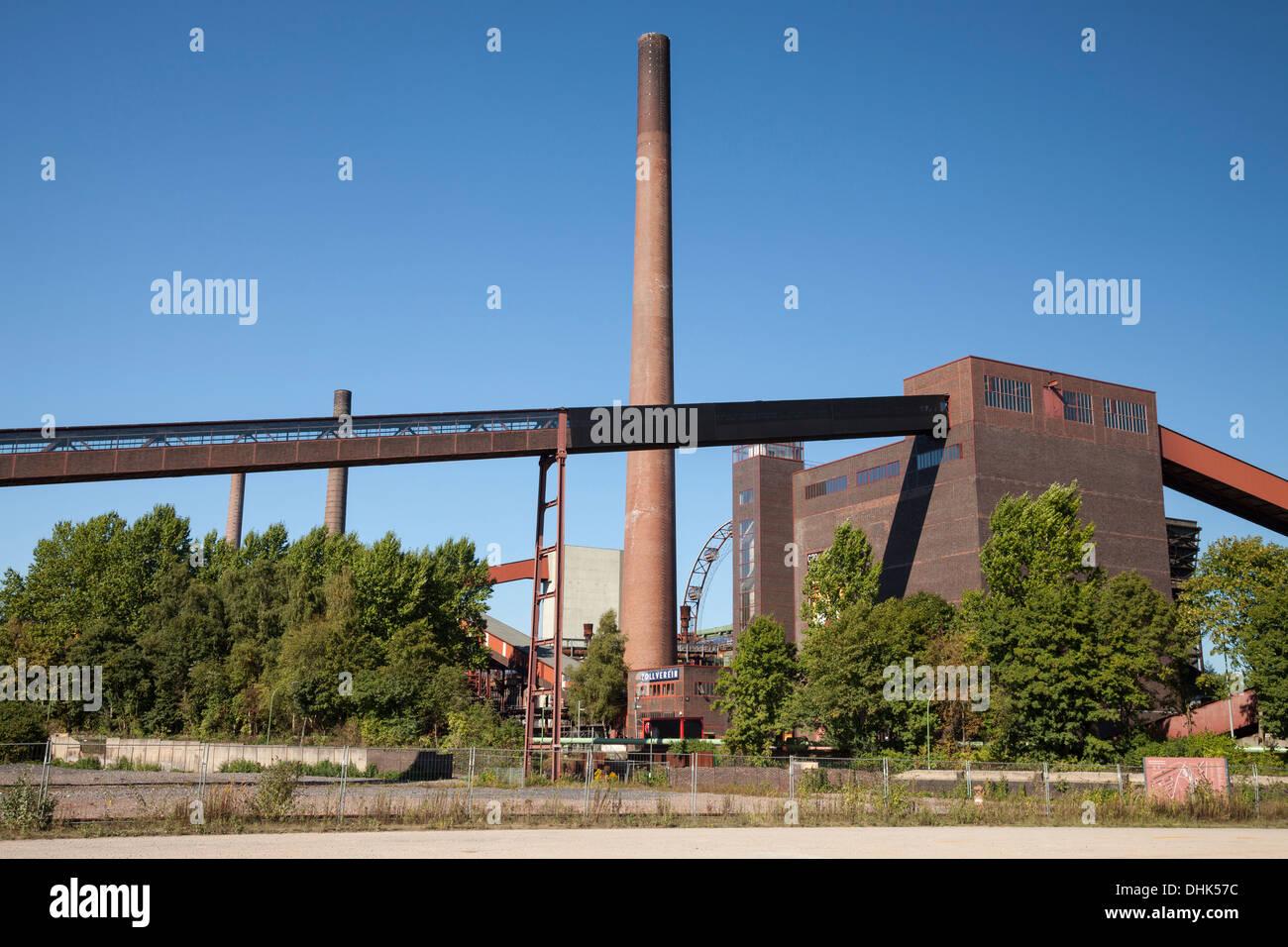 Germany, North Rhine-Westphalia, Essen, Zollverein Coal Mine Industrial Complex - Stock Image