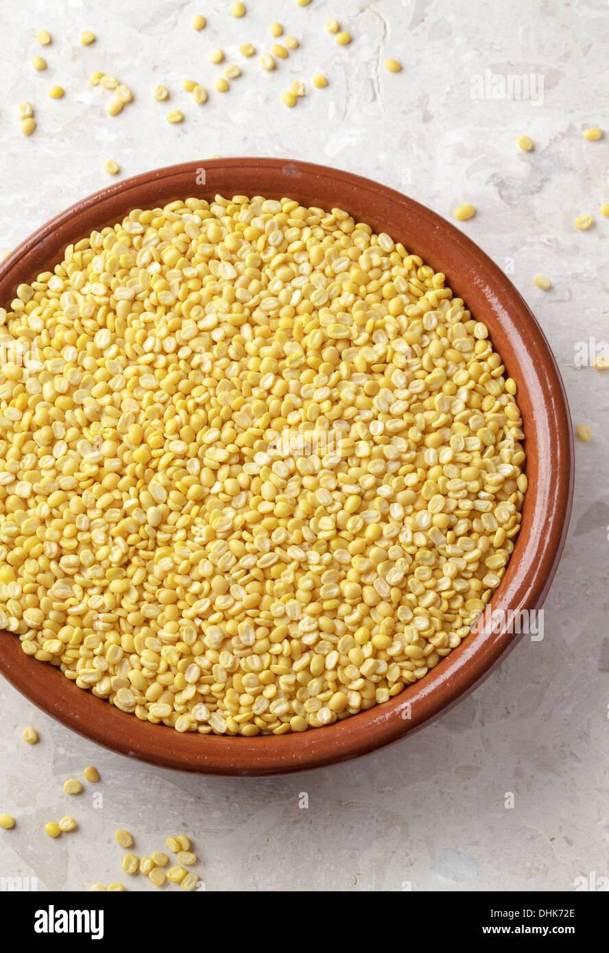 Mung Dal - Stock Image