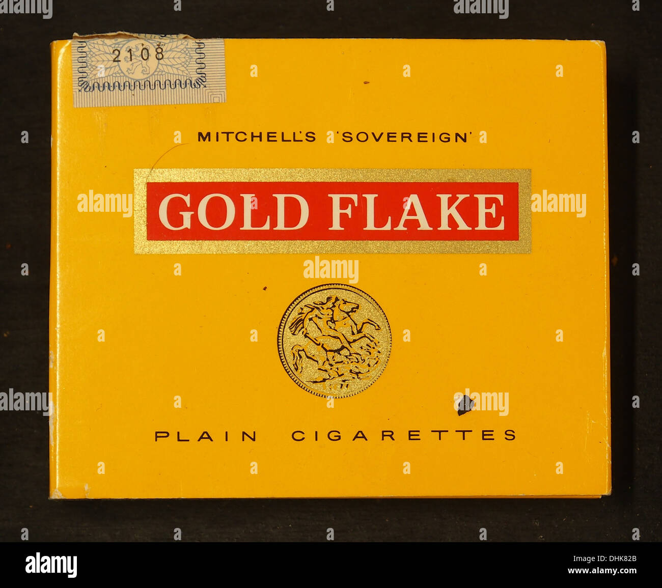 Gold Flake cigarettes, Mitchells Sovereign - Stock Image