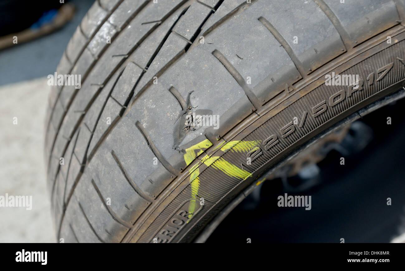 Mobile Car Tyre Puncture Repair