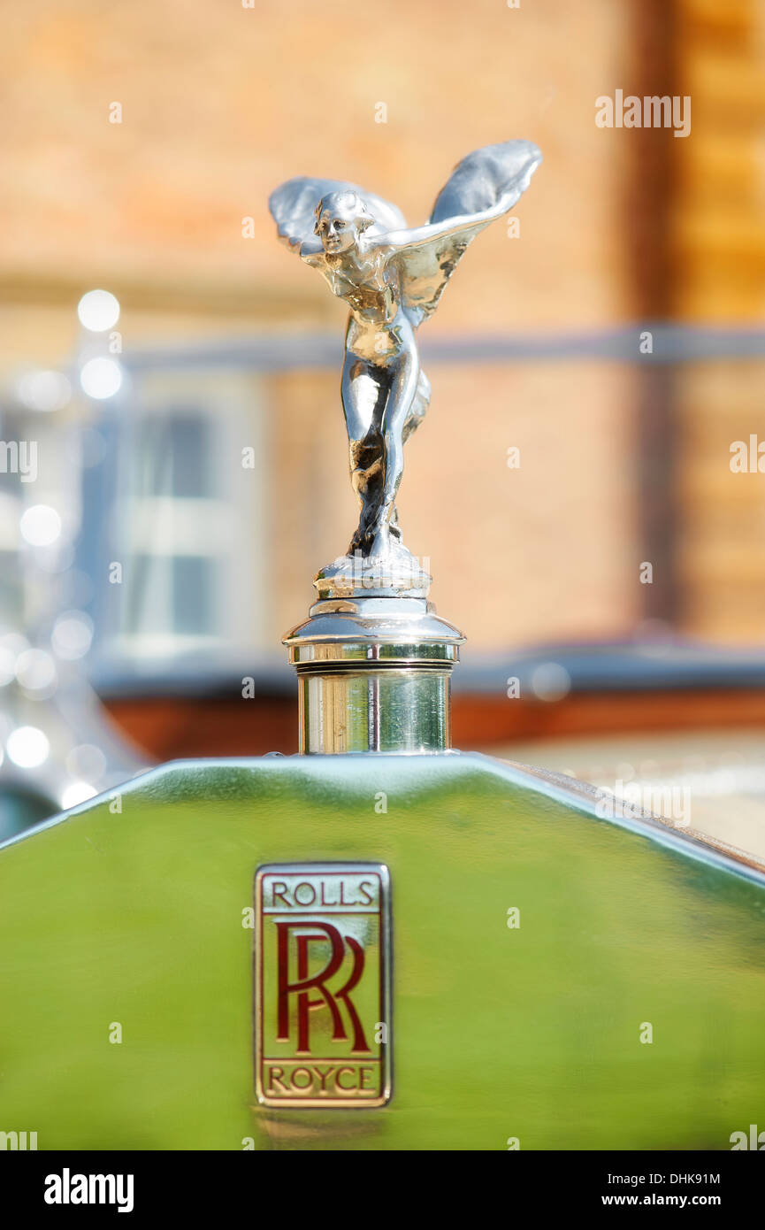Rolls Royce Mascot The Spirit Of Ecstasy Stock Photo 62504448 Alamy