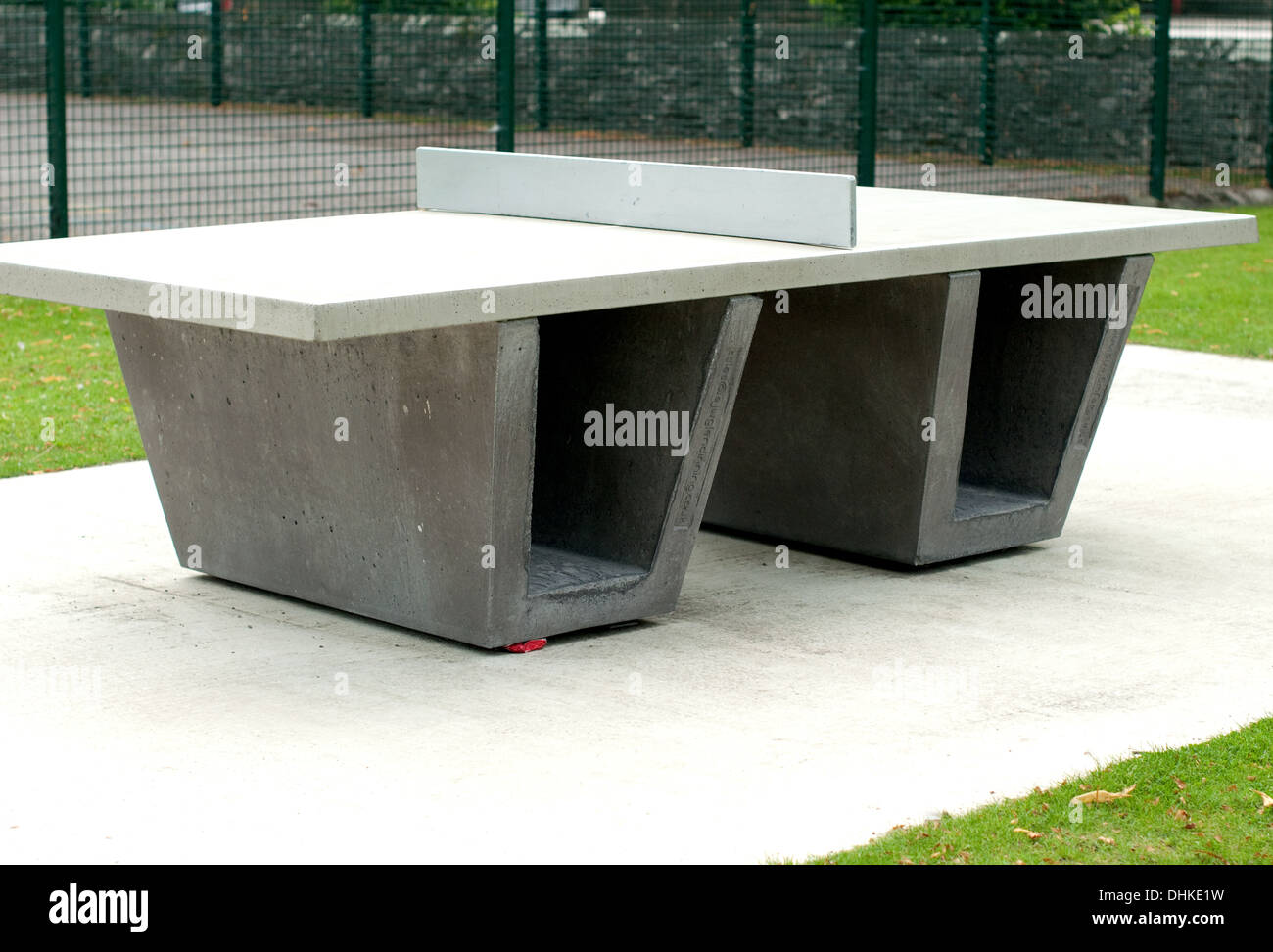 industrial style outdoor furniture. Image Of An Outdoor Table Tennis Made From Industrial Style Concrete Furniture A