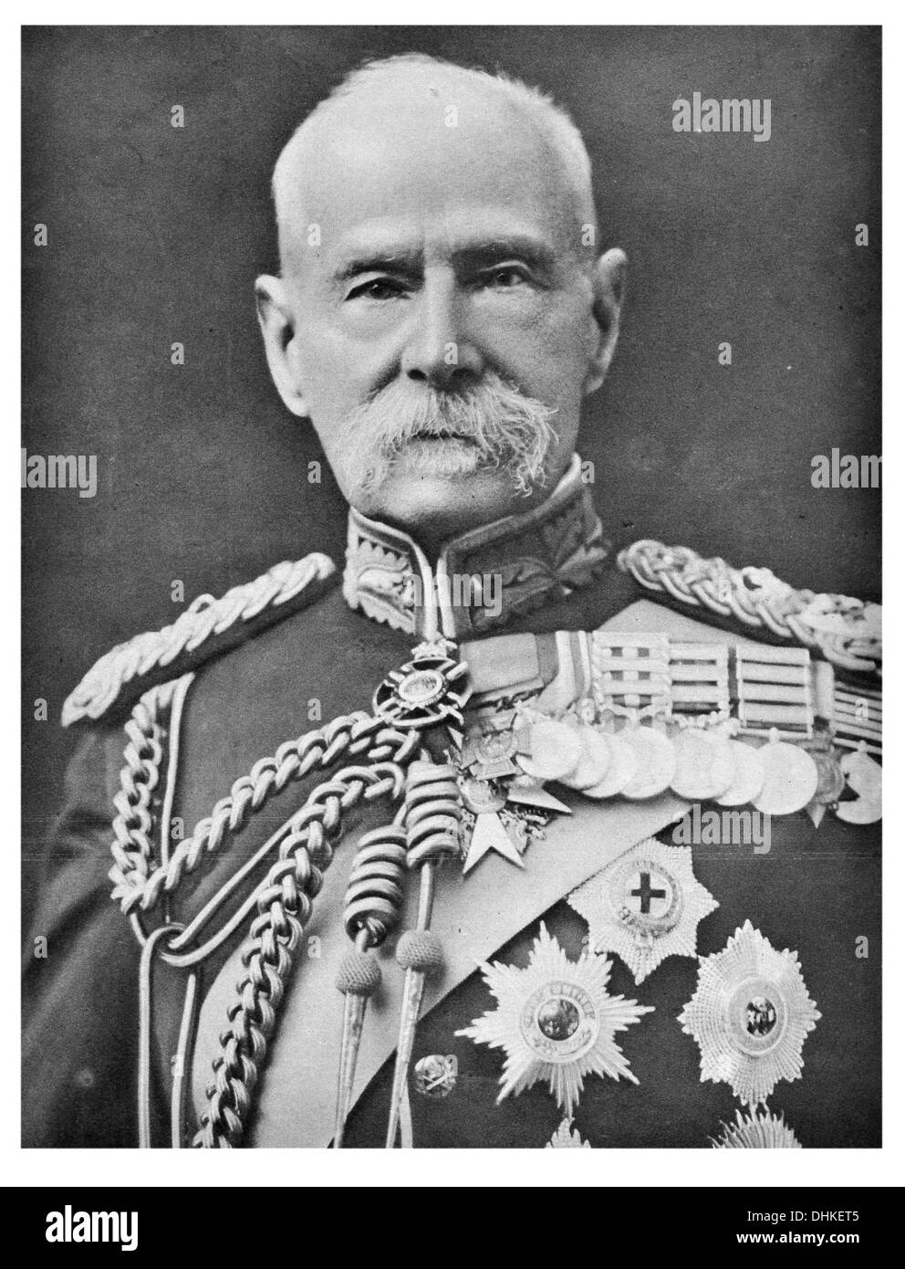 Field Marshal Frederick Sleigh Roberts, 1st Earl Roberts VC KG KP GCB OM GCSI GCIE KStJ VD PC - Stock Image