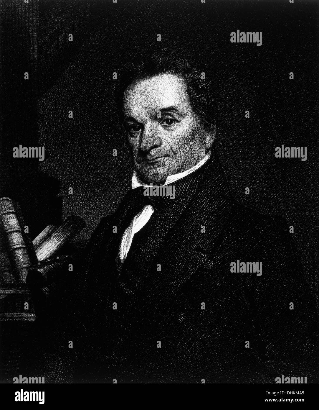 Edward Livingston (1764-1836), American Jurist and Political Figure, Secretary of State under President Andrew Jackson, Stock Photo
