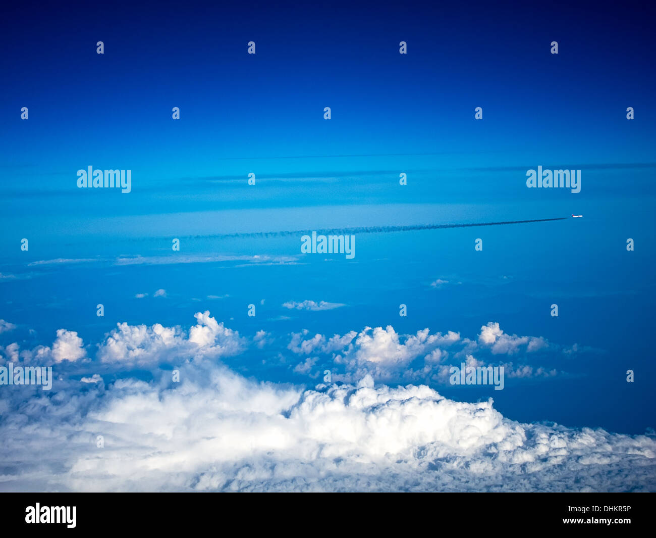 A view from heaven - Stock Image