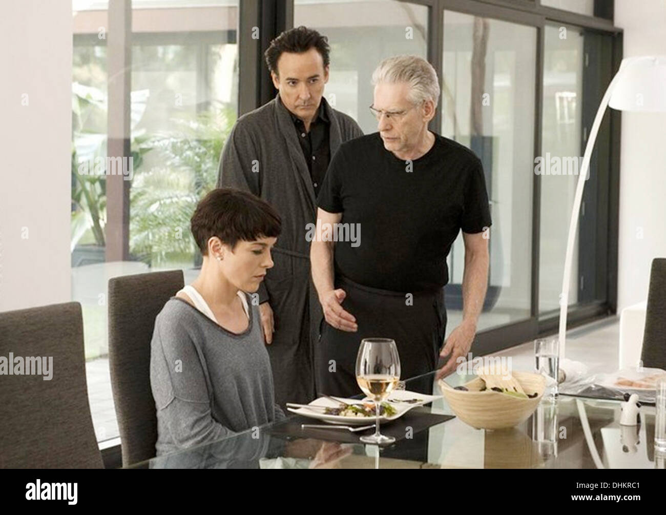 MAPS TO THE STARS 2014 Entertainment One film with Olivia Williams and John Cusack in middle - Stock Image