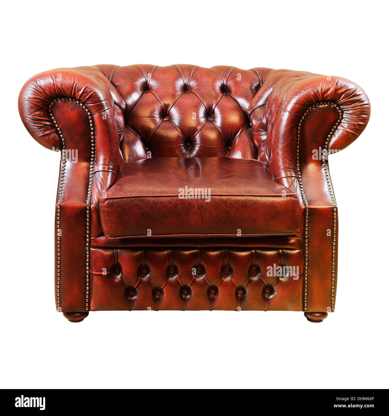 Old Antique Armchair - Stock Image