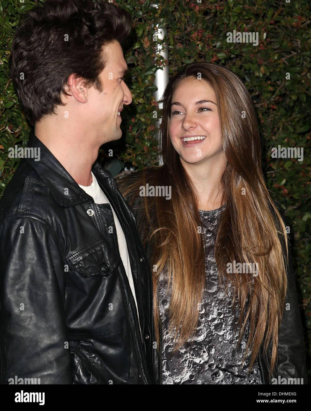 Shailene Woodley och Ken Baumann dating