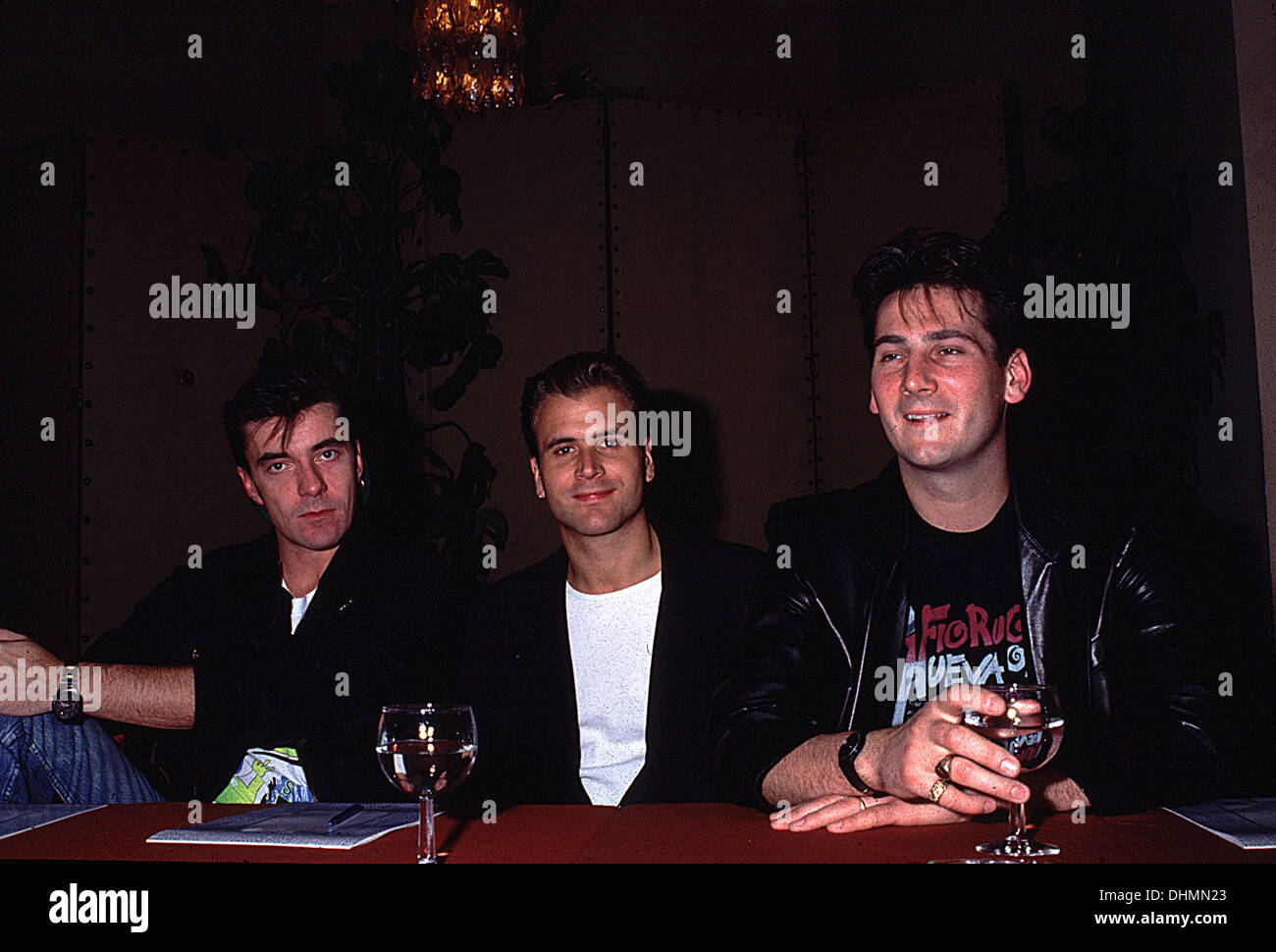 Members of Spandau Ballet in Rome circa 1987 - Stock Image