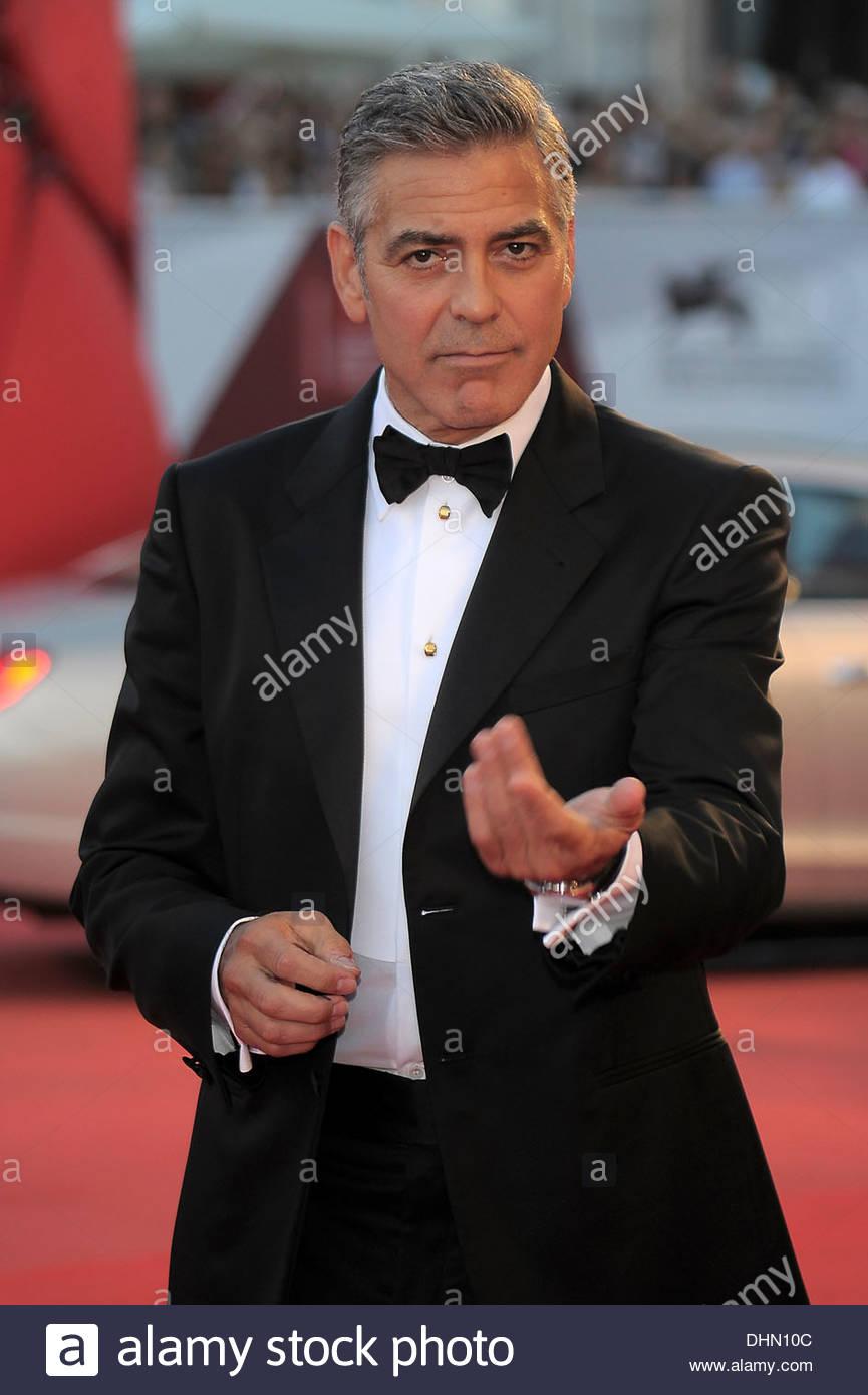 george clooney,70th international venice film festival - Stock Image