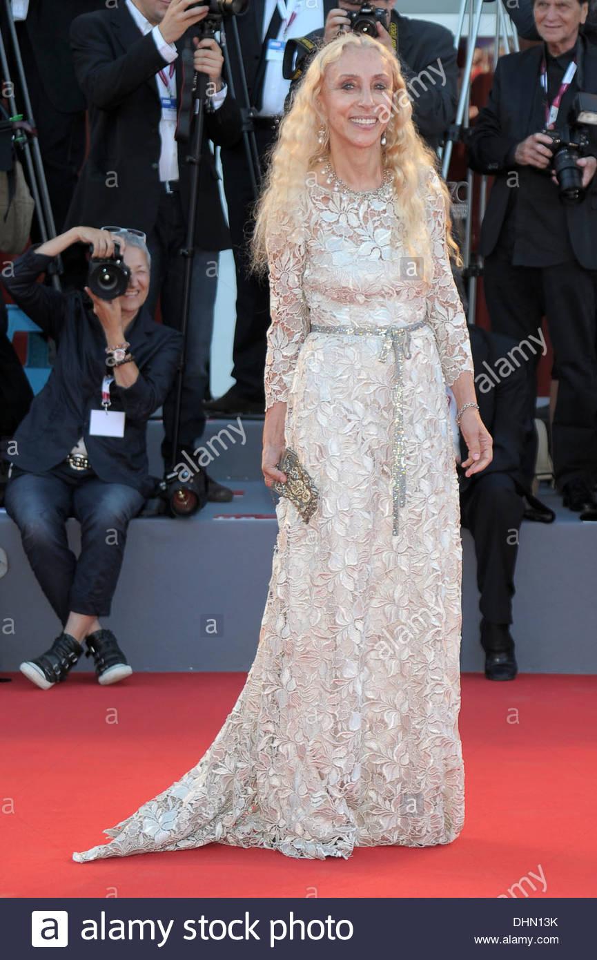 franca sozzani,70th international venice film festival - Stock Image