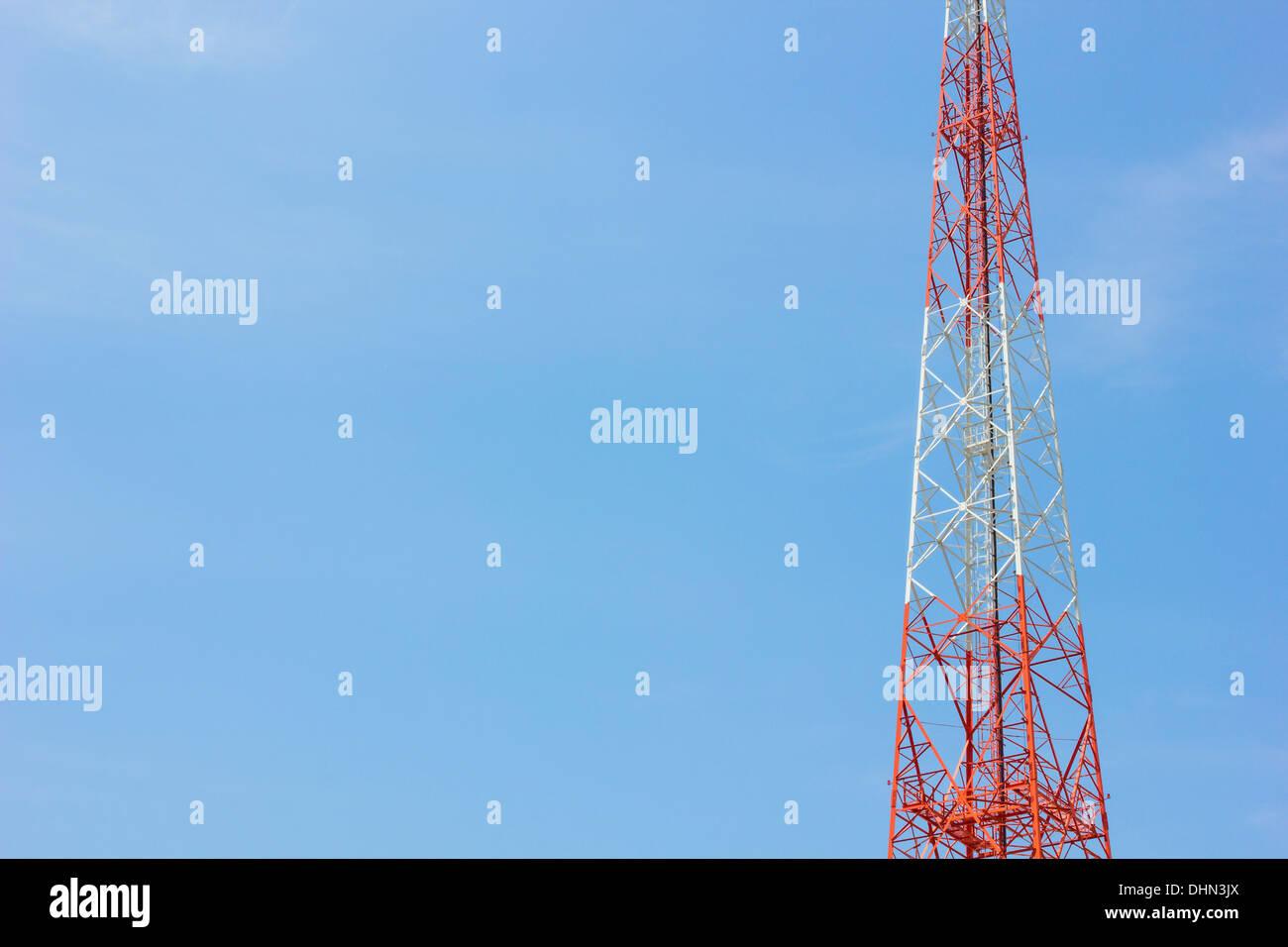 Antenna Telecommunications - Stock Image