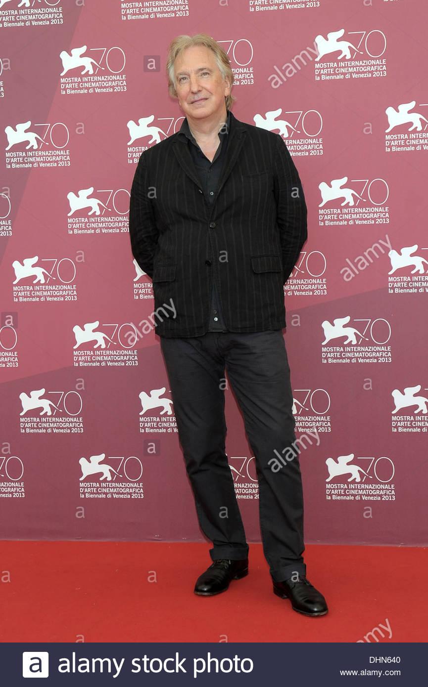 alan rickman,70th international venice film festival - Stock Image