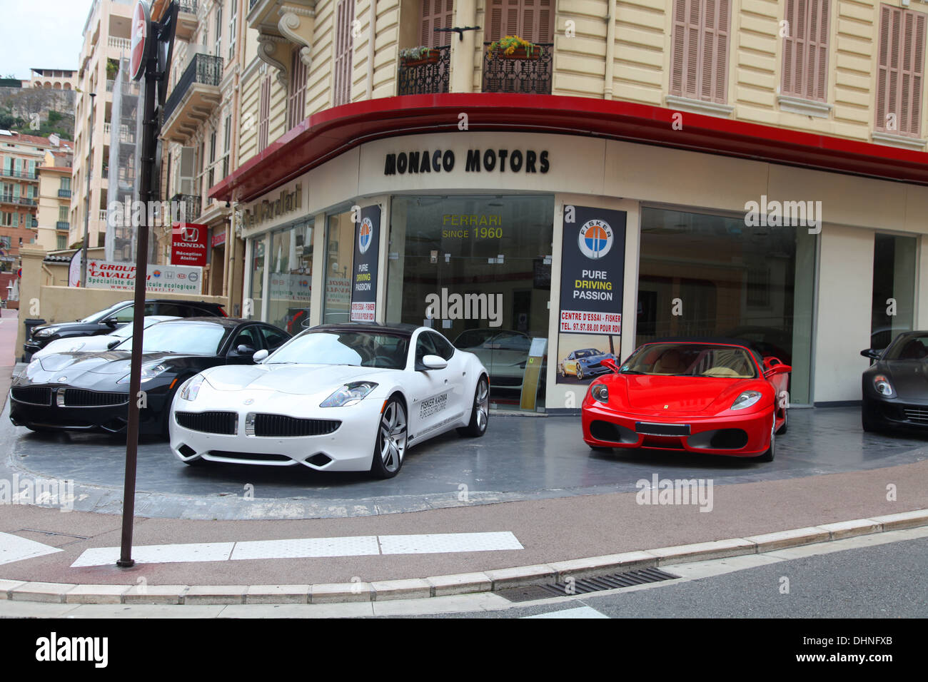 Used cars for sale in Monaco Stock Photo: 62553747 - Alamy