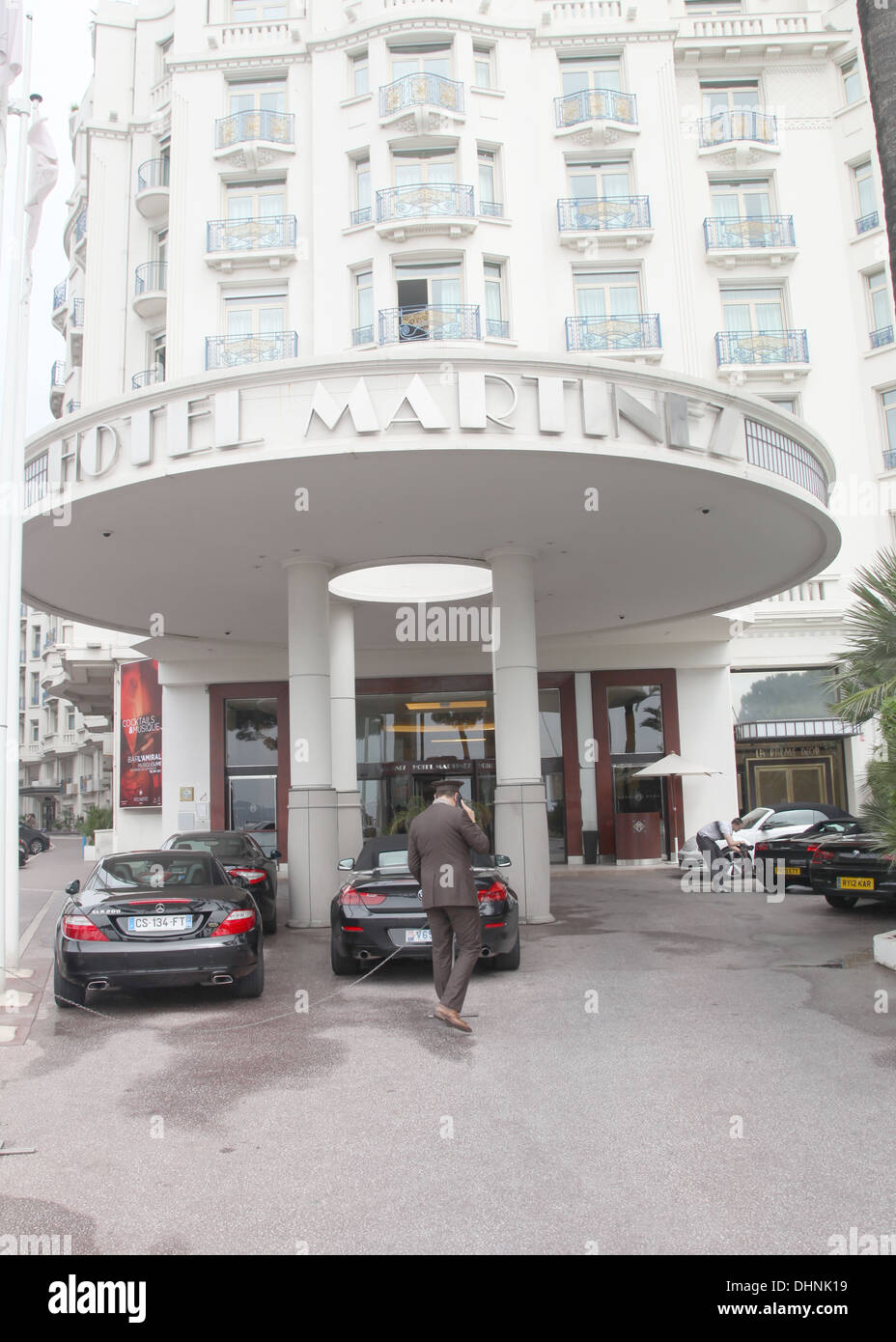 Hotel Martinez cannes - Stock Image