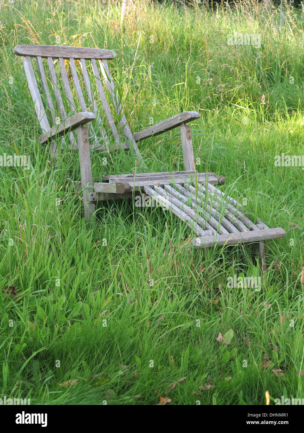 forgotten chair - Stock Image