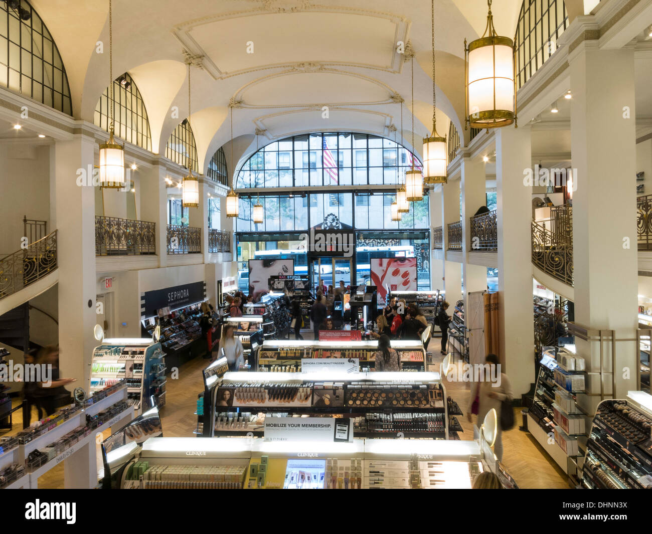 1cb206b178d Sephora Store Interior is in the Fred French Building on Fifth Avenue, NYC  - Stock