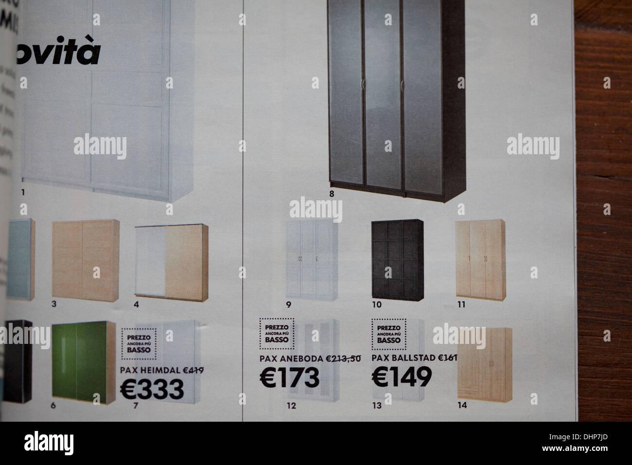 Ikea Catalog Stock Photo 62569205 Alamy