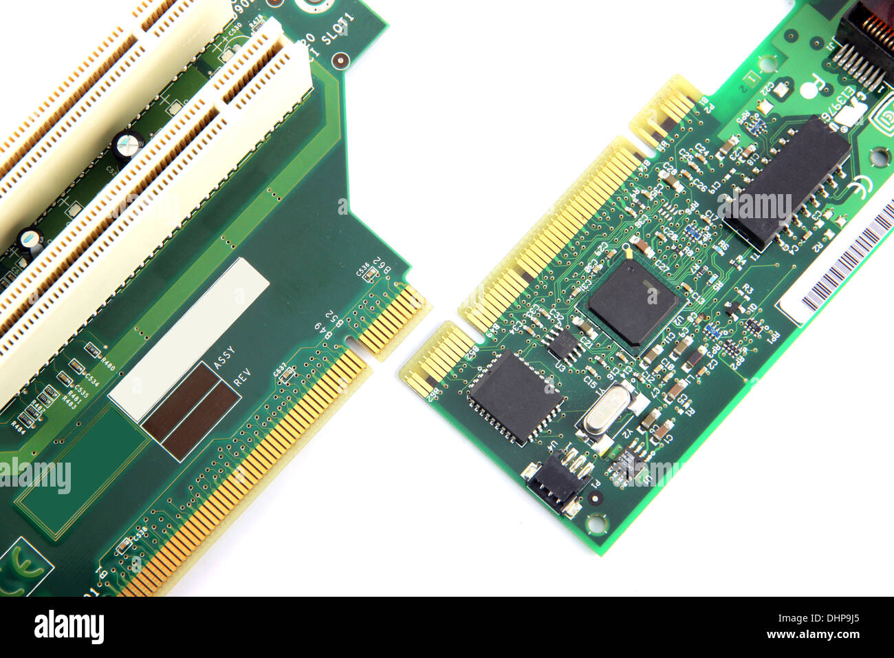 Circuit Board Recycling Equipmentcircuit Electronic Mother Rom Stock Photos Images Alamy Computer Equipment On White Background Image