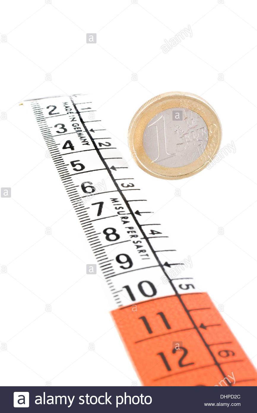 one euro - Stock Image
