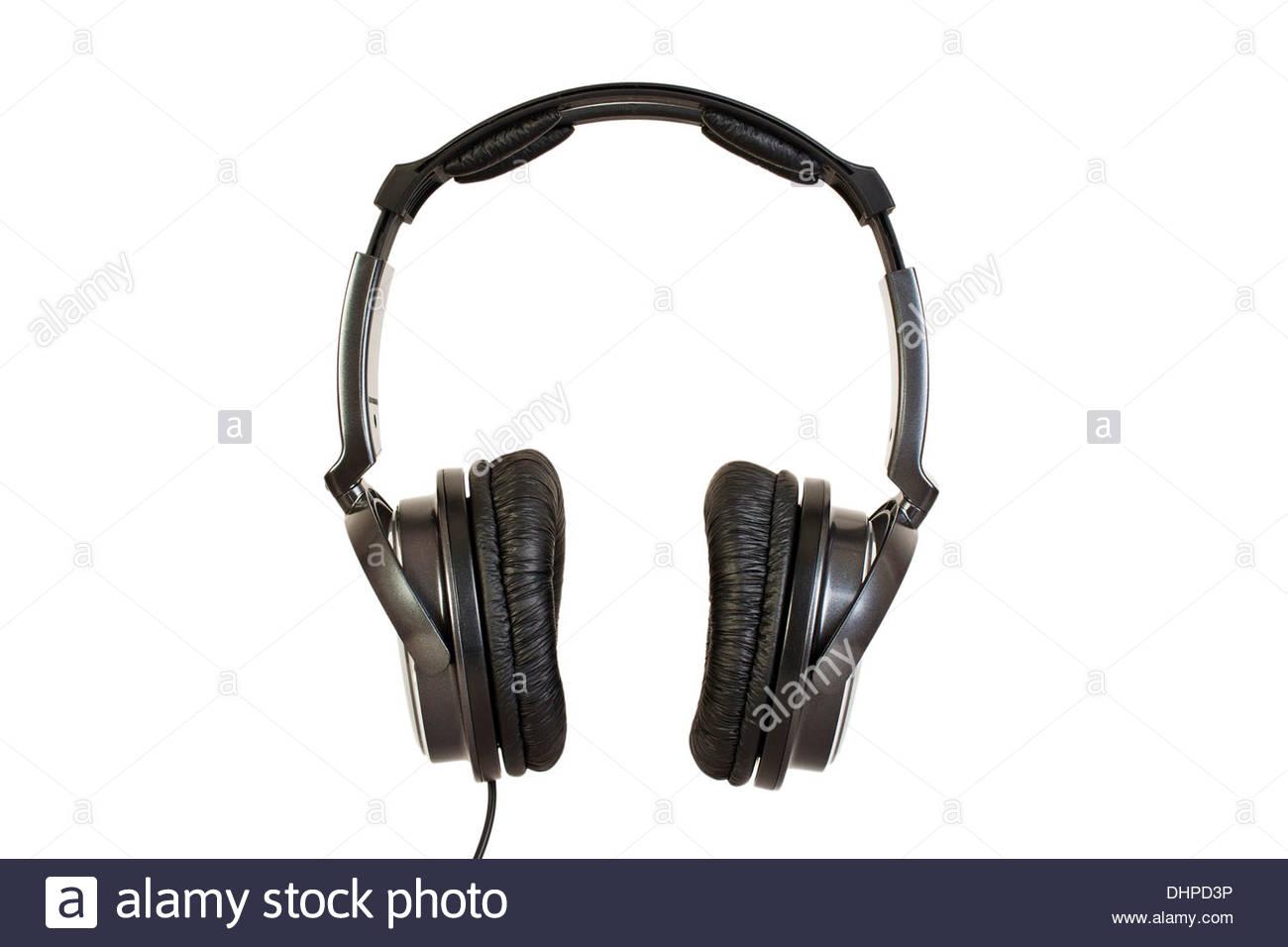 headphones - Stock Image