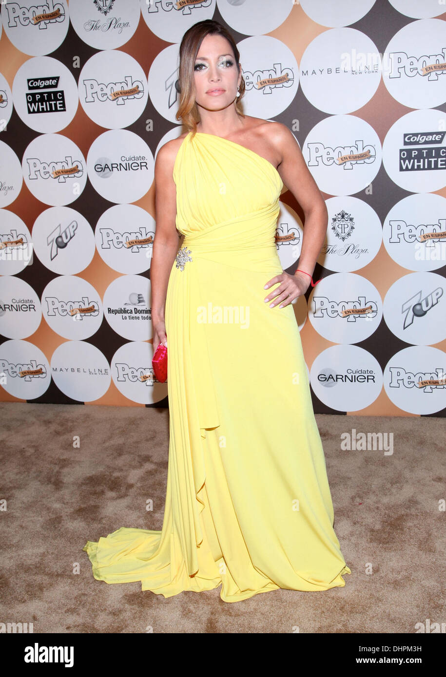 Adriana Fonseca People En Espanol 50 Most Beautiful Gala At The Plaza Hotel New York City USA