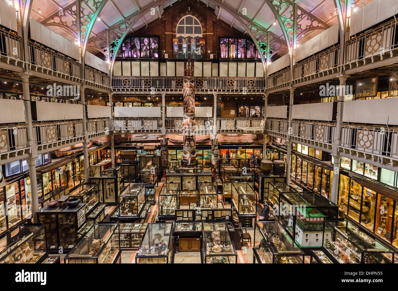 The Pitt Rivers museum Oxford - Stock Image