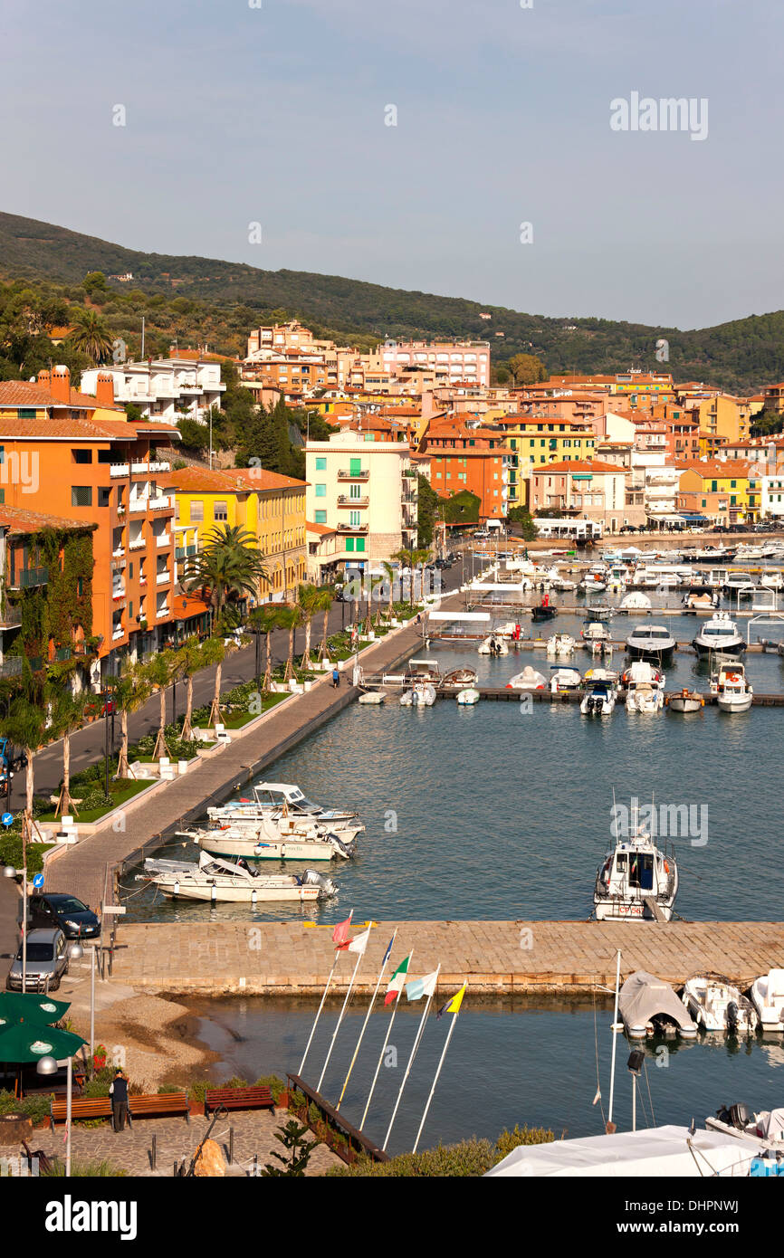Porto Santo Stefano, Monte argentario, Province of Grosseto, Tuscany, Italy - Stock Image