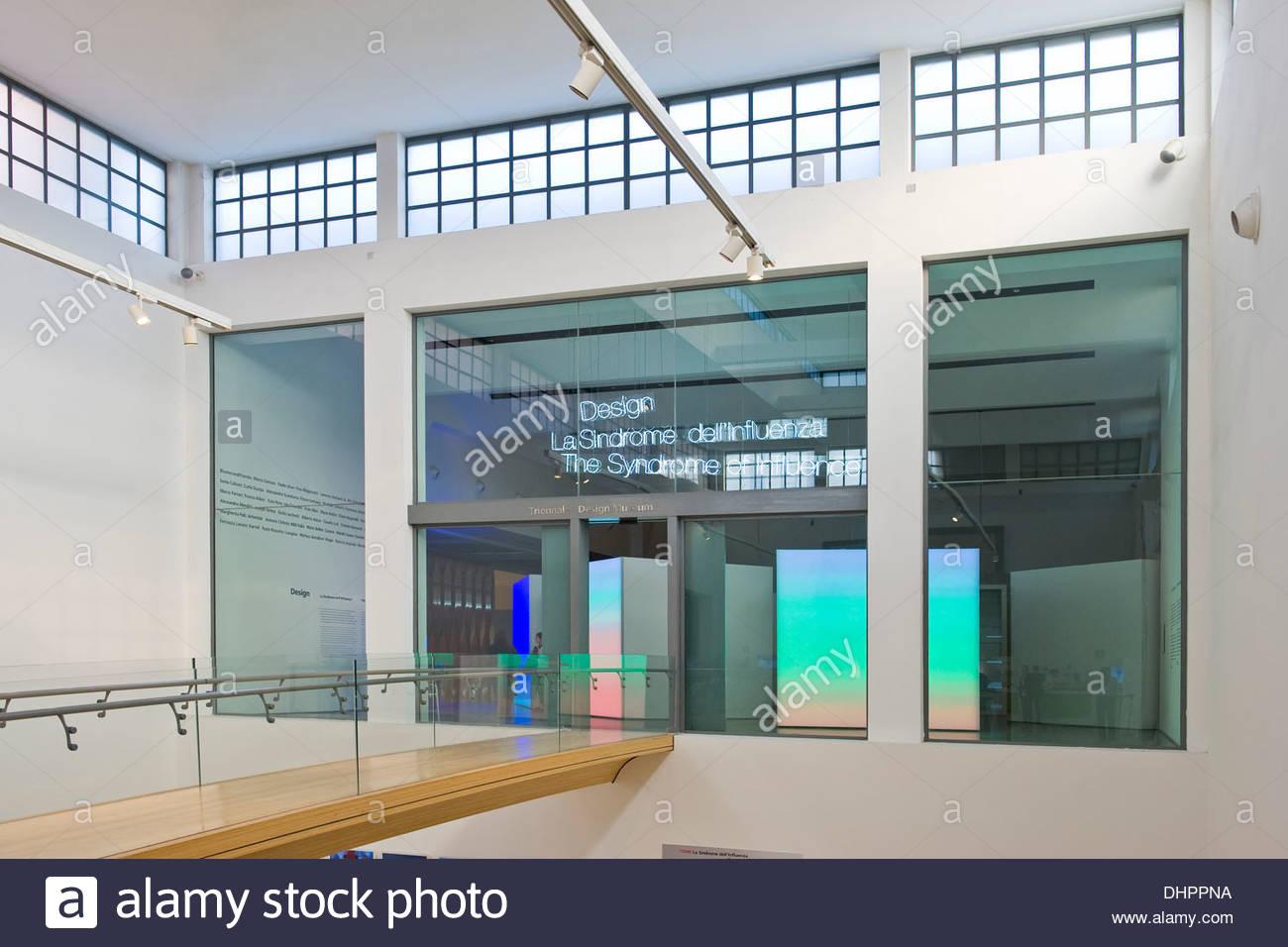 triennale di milano,italy - Stock Image