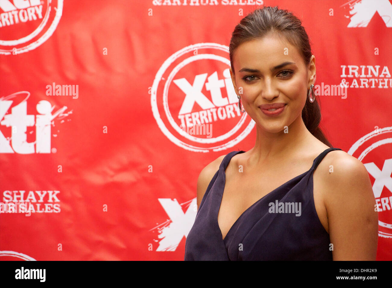 f98e4cb9 Irina Shayk The launch of 'Xti' shoes Autum-Winter 2012-13 collection