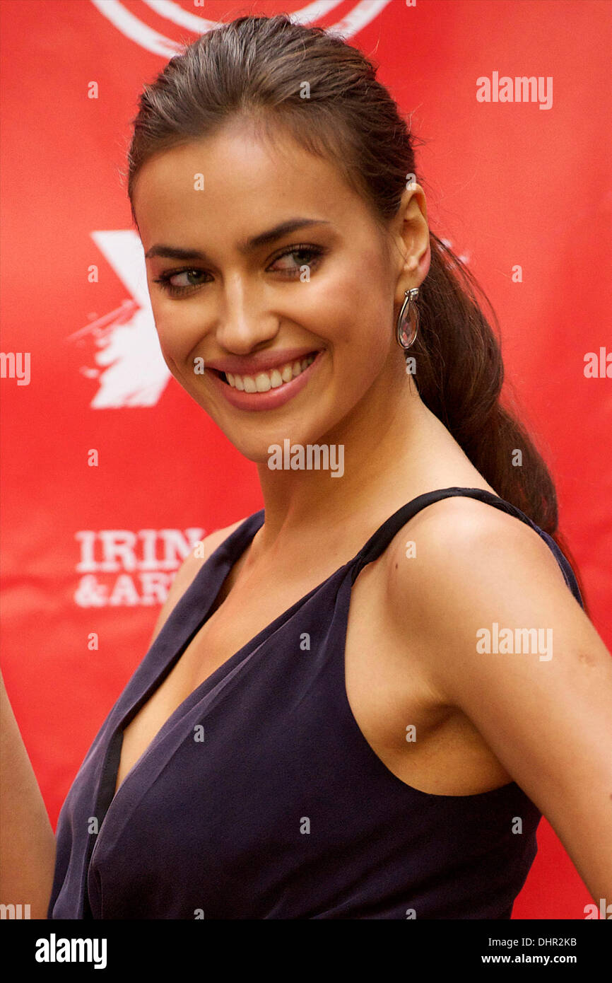 bffb33dd Irina Shayk The launch of 'Xti' shoes Autum-Winter 2012-13 collection at  the Hospes Hotel Madrid, Spain - 18.05.12