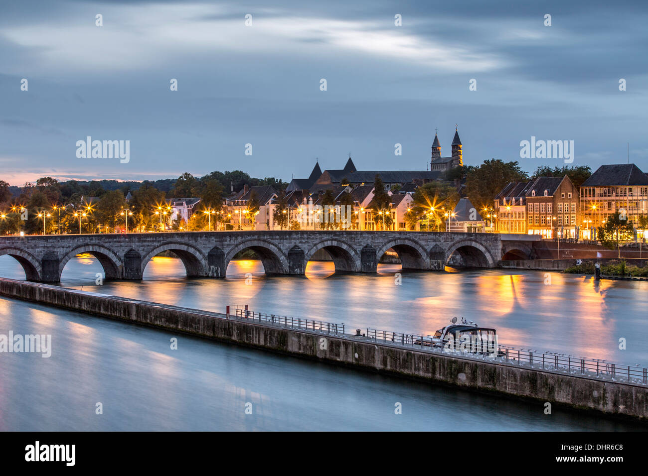 Netherlands maastricht maas or meuse river bridge - Maastricht mobel ...